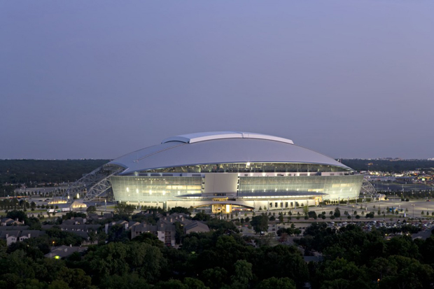 The Dallas Cowboys Stadium