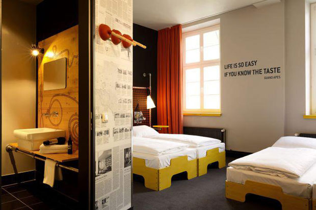 hamburg sorting office reinvented as hip hotel architecture agenda phaidon. Black Bedroom Furniture Sets. Home Design Ideas
