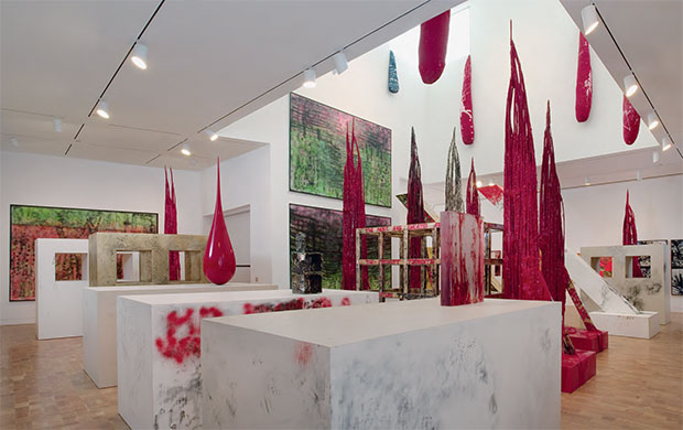 Sterling Ruby - Exhibition View, Supermax 2008, Museum of Contemporary Art, Los Angeles, 2008