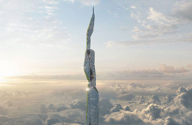 How The Jetsons inspired a 3-mile-high super tall