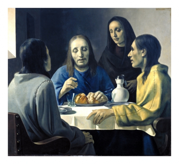 Han van Meegeren, after Vermeer, The Supper at Emmaus (1937). As reproduced in The Art of Forgery