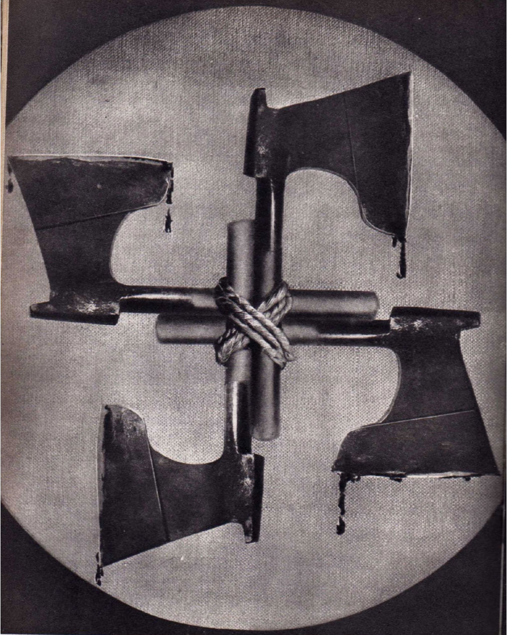 Blood and Iron (1934) by John Heartfield