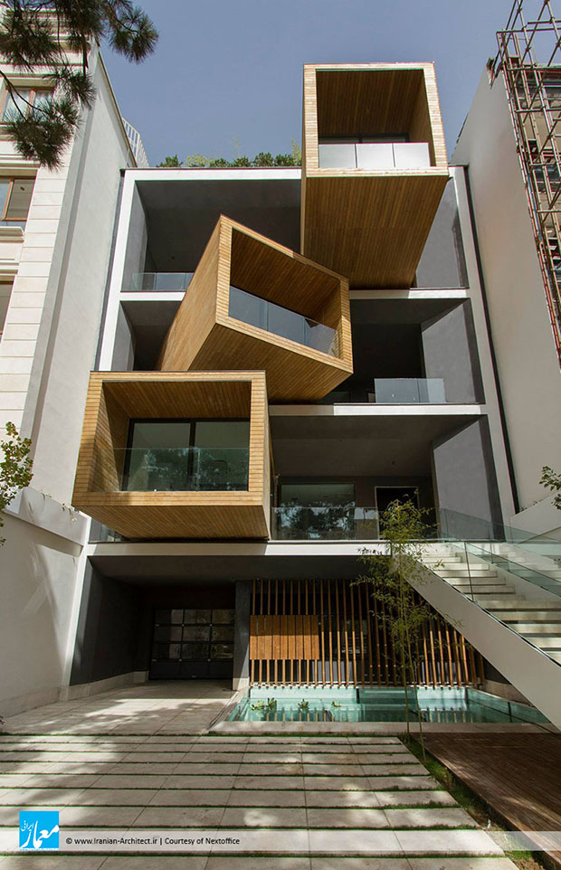 Nextoffice's Sharifi-ha House, Tehran