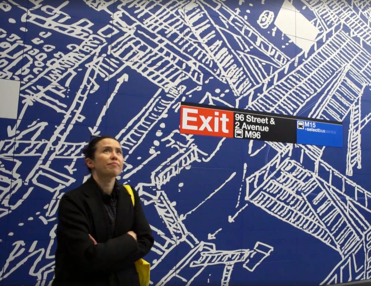 Sarah Sze explains her 2nd Avenue subway art