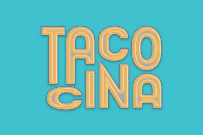 The logo for Danny Meyer's new taco venture, Tacocina. Image courtesy of Meyer's Instagram
