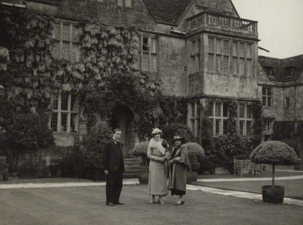 Tancred Borenius; Lady Ottoline Morrell; Edith Olivier, 1936