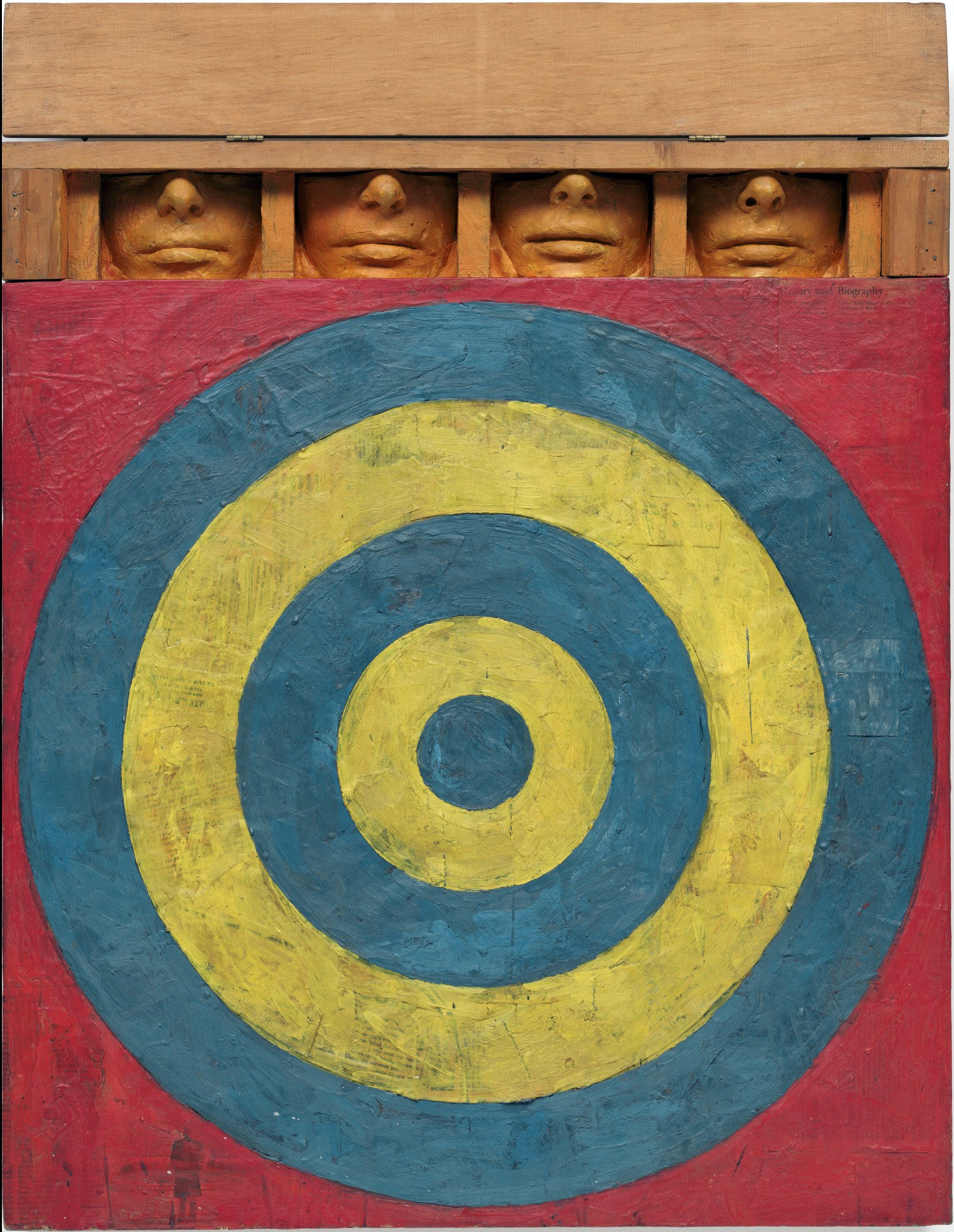 Target with Four Faces (1955) by Jasper Johns. As reproduced in our Phaidon Focus book