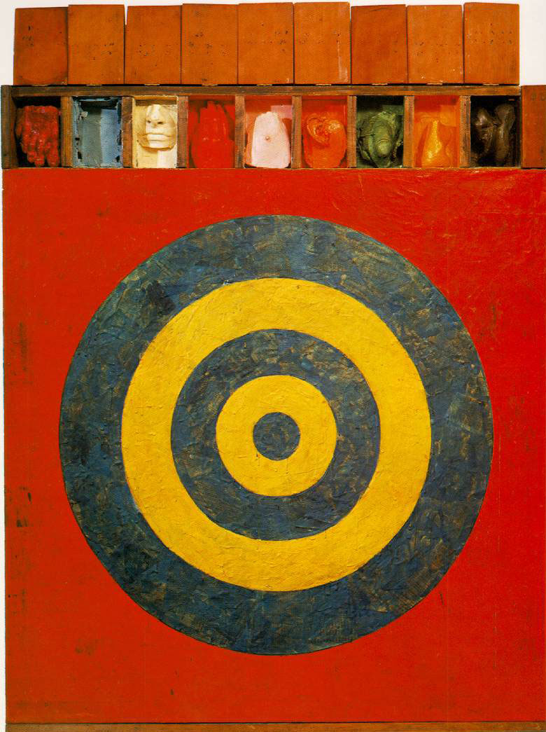 Target with plaster casts jasper johns