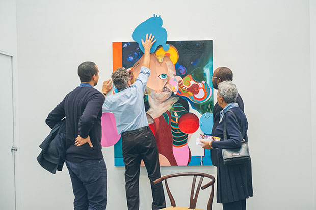 The Armory Show. Image courtesy Roberto Chamorro for The Armory Show