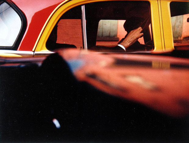 Taxi, 1957, by Saul Leiter. © Saul Leiter Courtesy Howard Greenberg Gallery, New York