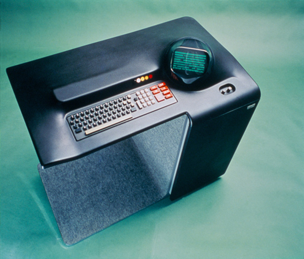 Mario Bellini's Olivetti TVC 250 video terminal. From Mario Bellini