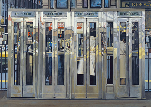 Telephone Booths (1968) by Richard Estes