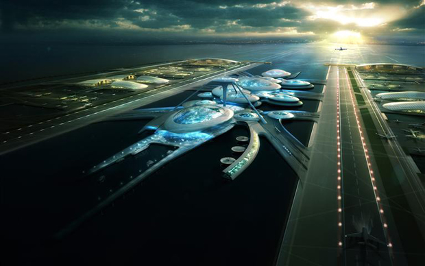 Plans for new London airport revealed