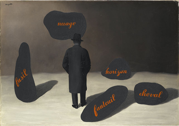 L'Apparition (The Apparition) (1928) by René Magritte