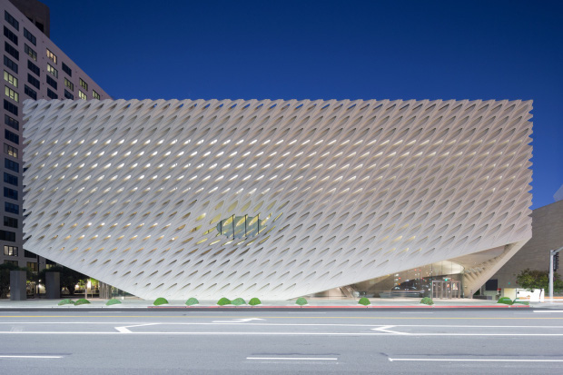 The Broad. Photo by Iwan Baan. Courtesy of the Broad