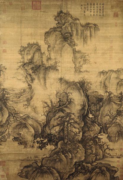 Early Spring (1072) by Guo Xi
