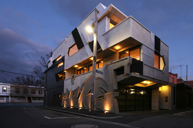 World 39 s first building inspired by hip hop architecture for Home architecture melbourne