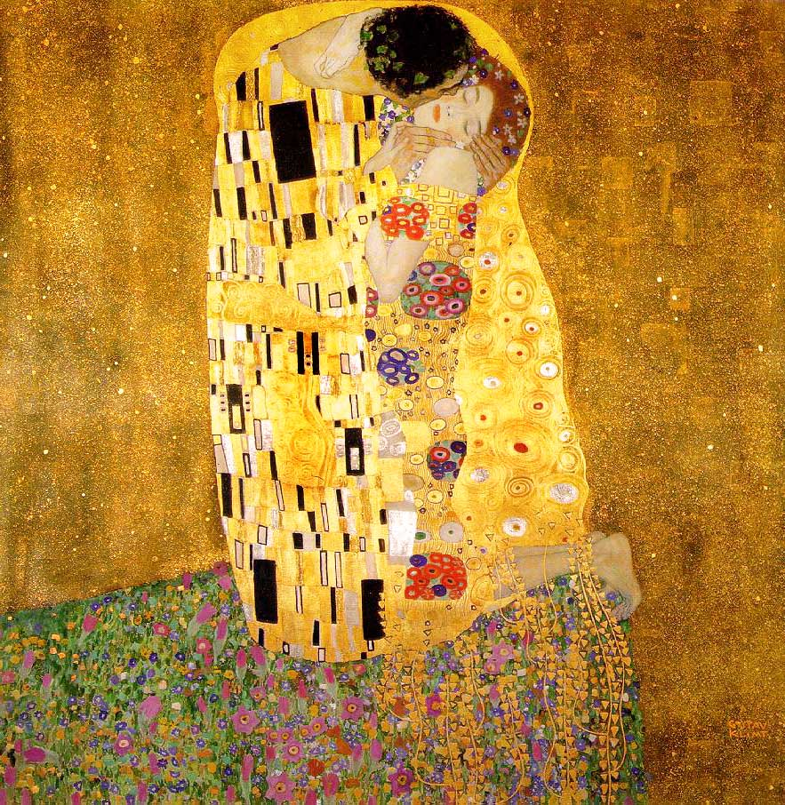 The Kiss (1908-1909) by Gustav Klimt