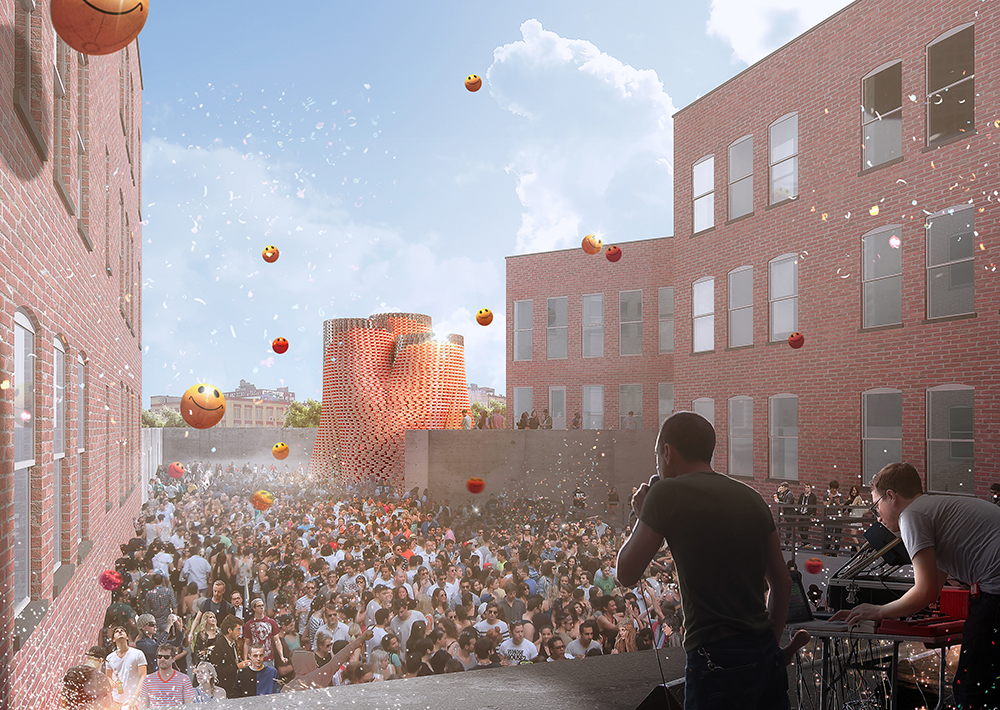 Hy-Fi (2014) by The Living, winner of MoMA PS1's Young Architects Program