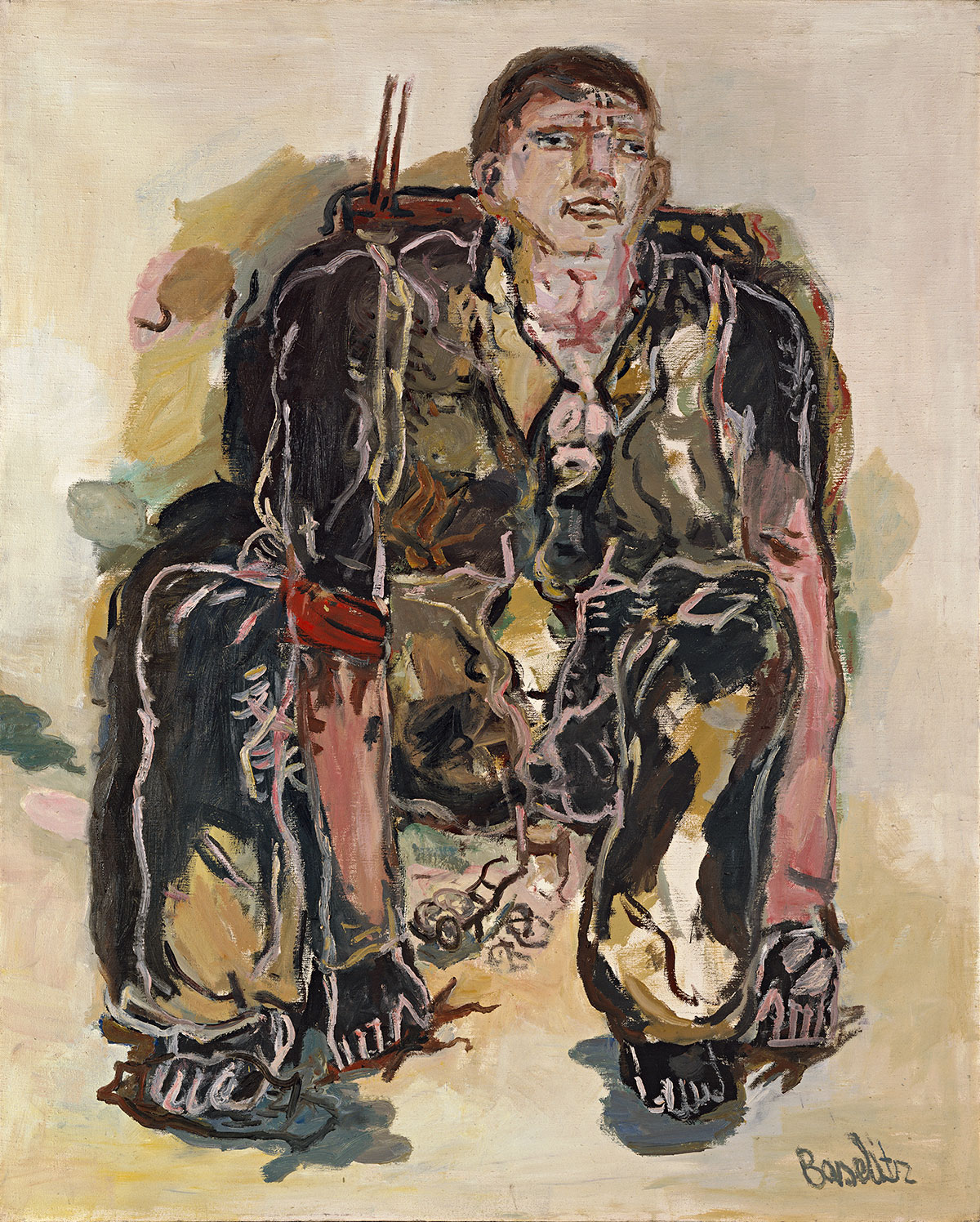 When Georg Baselitz painted his Heroes
