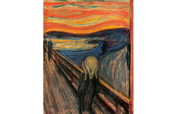 The Scream, Edvard Munch, between 1893 and 1910