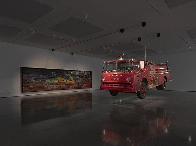 Raising Goliath (2012) by Theaster Gates - as featured in our Contemporary Artist Series book