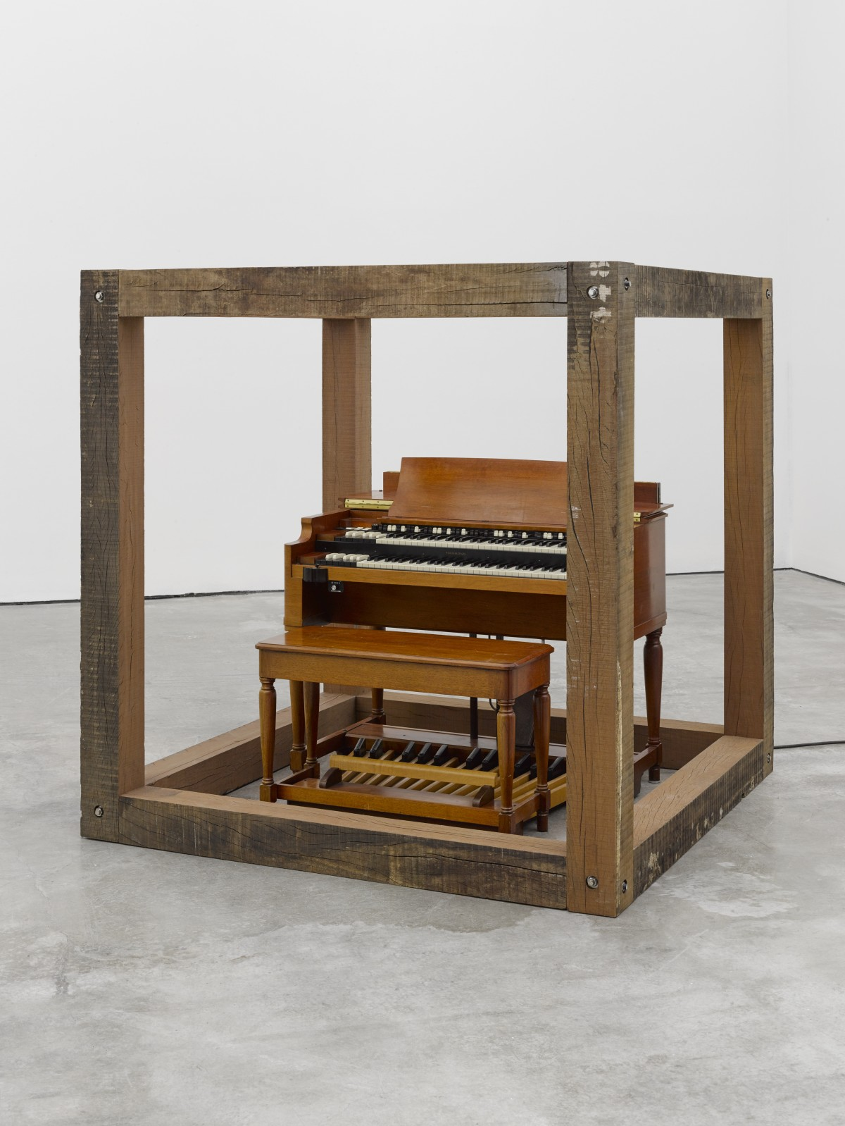 Theaster Gates, Sound Cube, 2019 © Theaster Gates. Photo © White Cube (Ollie Hammick)
