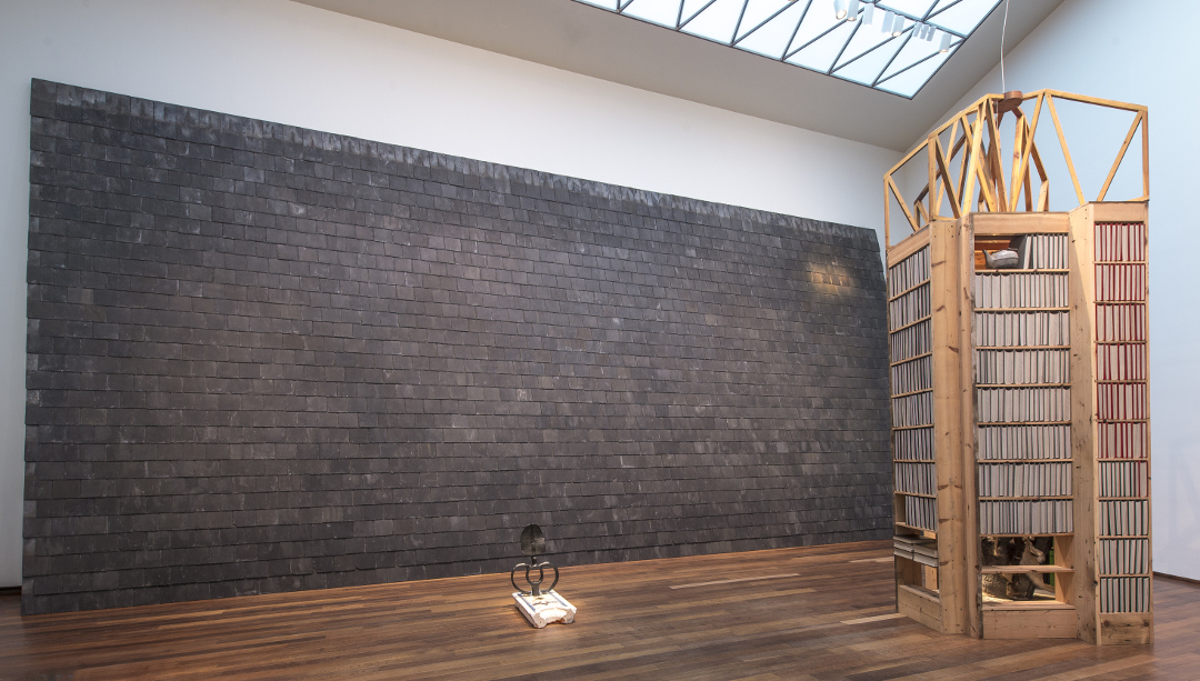 Installation view of Theaster Gates: The Minor Arts Courtesy of the artist, White Cube, and Regen Projects National Gallery of Art, Washington