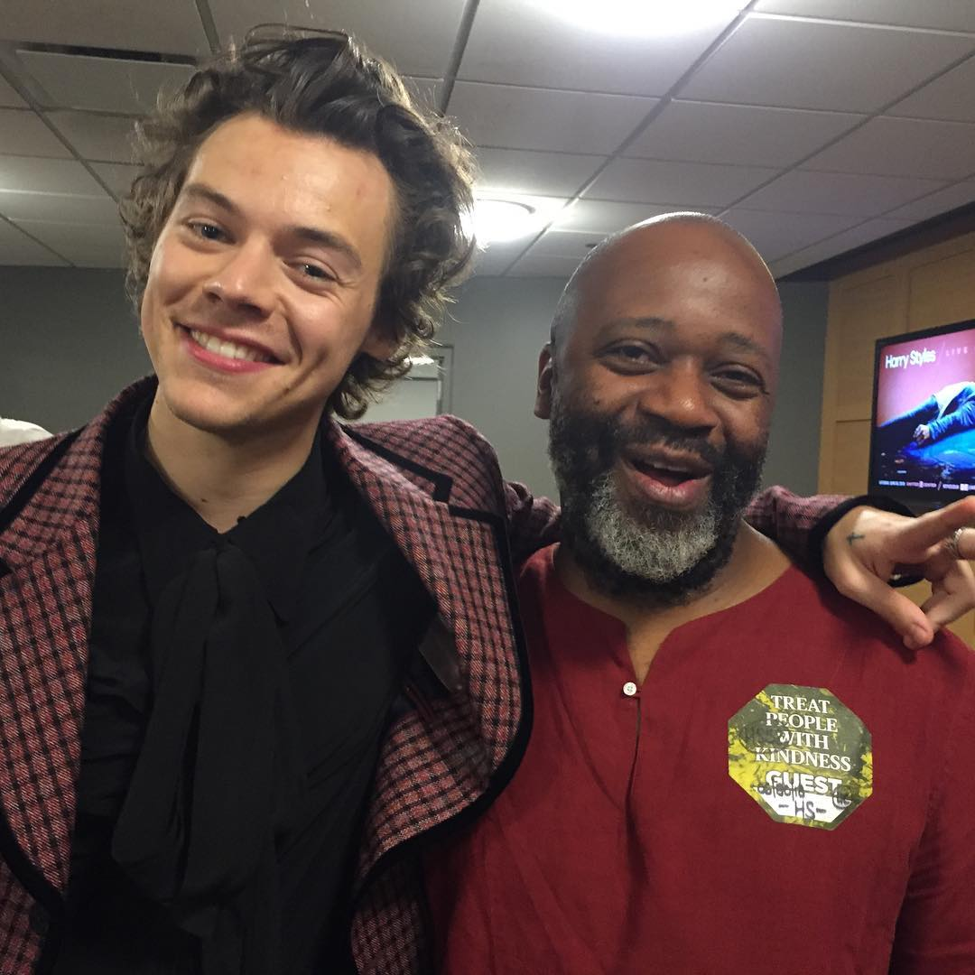 Theaster Gates harmonizes with Harry Styles