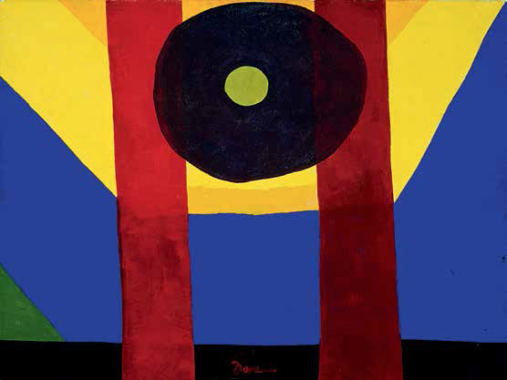 That Red One (1944) by Arthur Dove. As reproduced in Modern Art in America 1908 - 1968