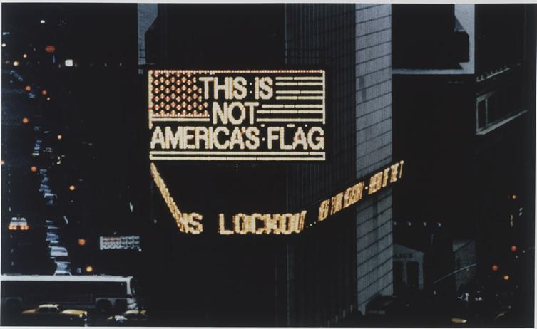 This Is America: Alfredo Jaar Tells NYC Again, This Is Not America