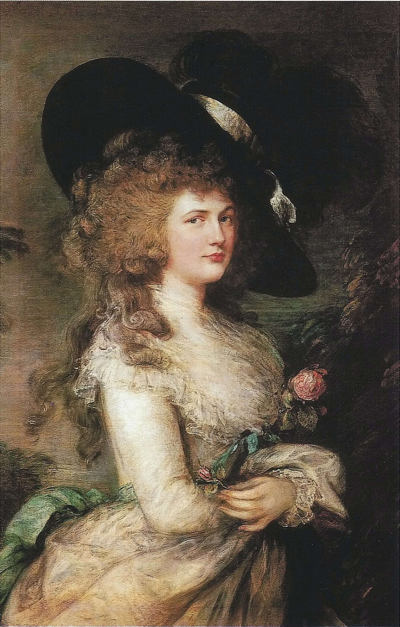 Portrait of Georgiana, Duchess of Devonshire (1787) by Thomas Gainsborough