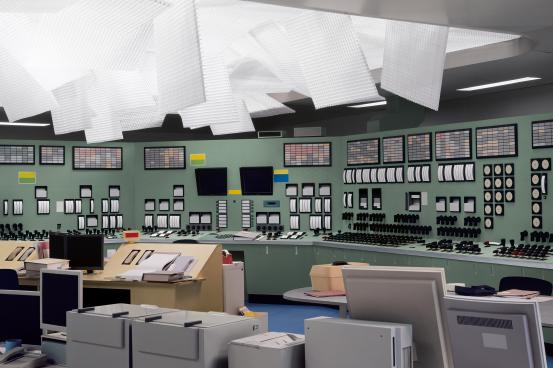 Control Room (2011) by Thomas Demand