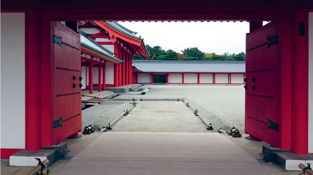 Courtyard of the Shishinden (Throne Hall), Kyoto Imperial Palace
