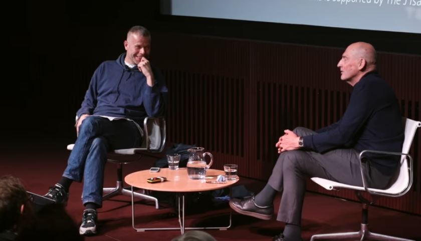 Wolfgang Tillmans and Rem Koolhaas at Tate Modern, 2017
