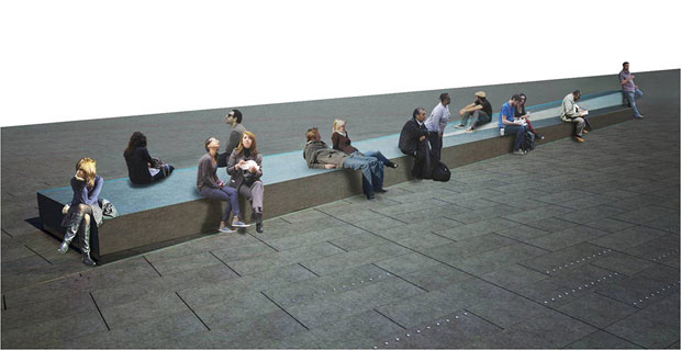 Times Square pedestrian landscaping - Snohetta