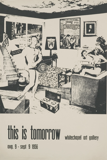 Richard Hamilton, Poster for 'This is Tomorrow' exhibition (1956)