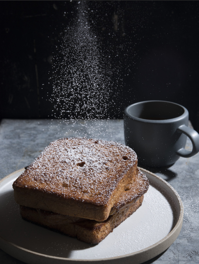 Cinammon toast made by mom was an early childhood memory for Raquel Pelzel - her own Best Cinnamon Toast is better though!