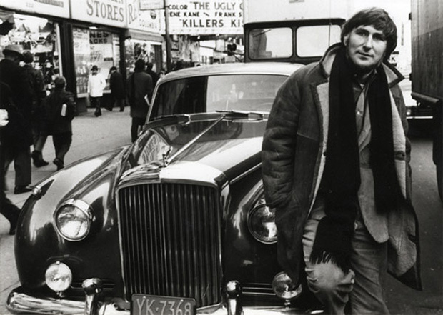 Tomi and his caramel coloured Bentley, New York 1966