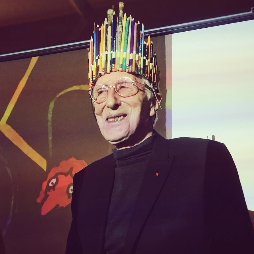 Isn't this the perfect crown for Tomi Ungerer!