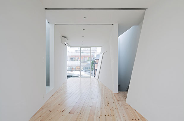 House in Tomatsu, Osaka, Japan - Ido, Kenji Architectural Studio as featured in the book Architizer A+Awards 2015