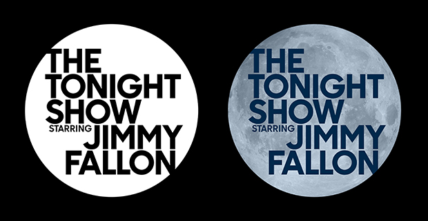 The new Tonight Show identity by Pentagram