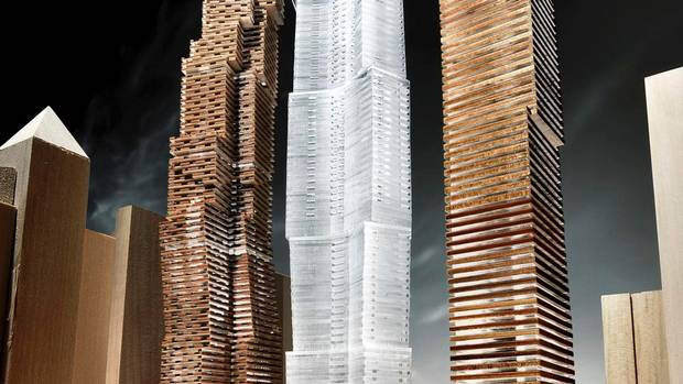 Gehry's proposal for downtown Toronto