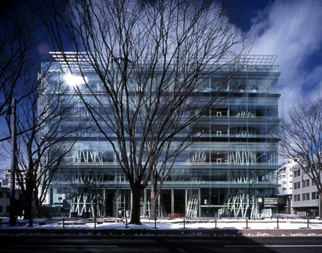 The Sendai Mediatheque, 2001, by Toyo Ito