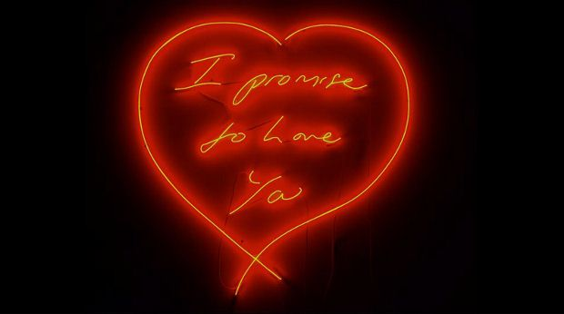 I Promise To Love You (2007) by Tracey Emin
