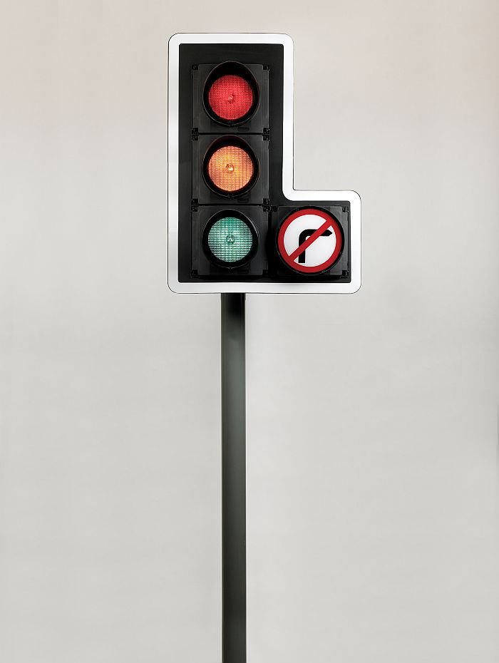 British traffic light system, 1965-9, by David Mellor