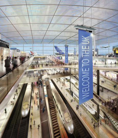Thames Hub plans by Foster + Partners