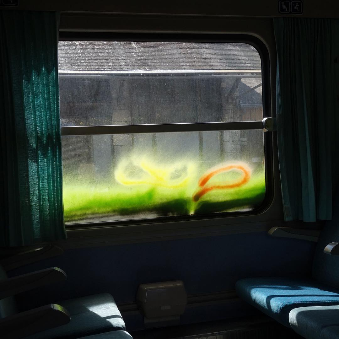 Cédric Thévenot's train window submission (image courtesy of @cedric.theveno