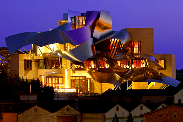 Frank gehry 39 s marques de riscal hotel architecture for Bodegas marques de riscal