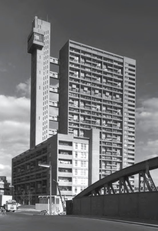 Trellick Tower, London, as featured in This Brutal World